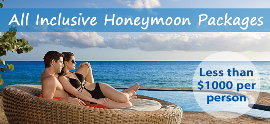 All Inclusive Honeymoon Packages are very affordable.