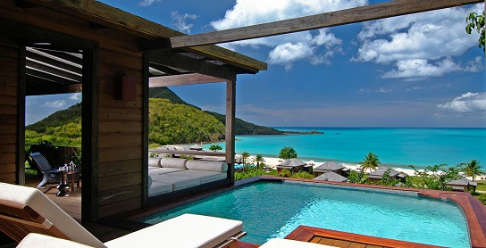 best honeymoon suite antigua
