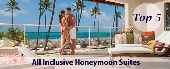top 5 all inclusive honeymoon suite in Punta Cana