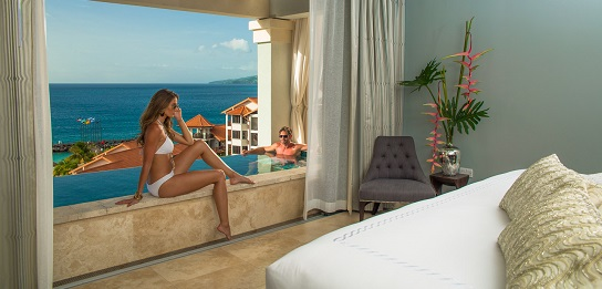 best honeymoon suite in Grenada