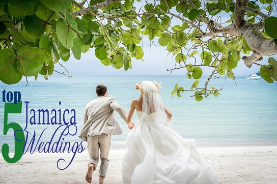 Top 5 jamaica weddings all inclusive honeymoon resort for All inclusive wedding packages
