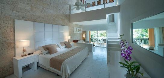 punta cana princess honeymoon suite