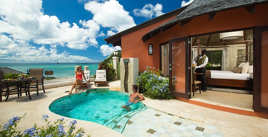 Sandals St Lucia Honeymoon Resort