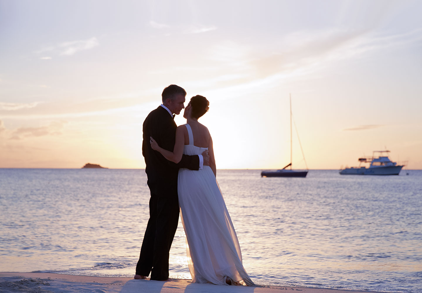Sandals Grande Antigua Sunset Wedding