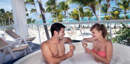 Punta Cana Honeymoon Suites with Outdoor Jacuzzis