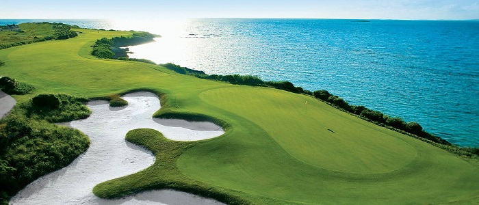 bahamas golf, sandals emerald bay