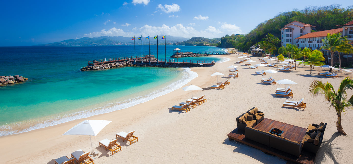 Sandals honeymoon, LaSource Grenada