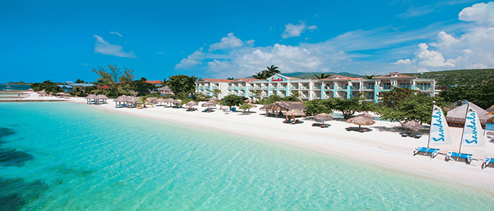 Sandals Montego Bay honeymoon TRUE beachfront