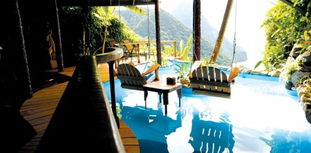 St Lucia Honeymoon Resorts with Private Pool Suites