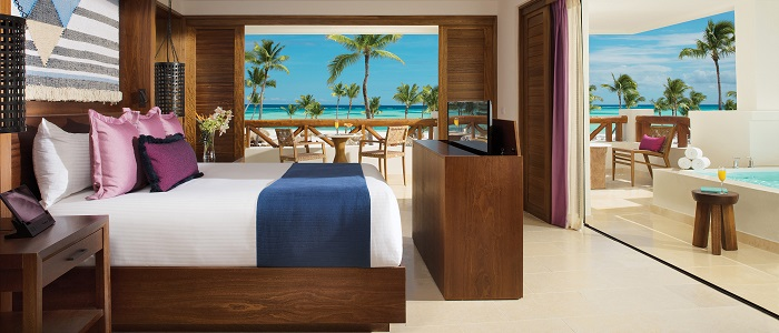 secrets cap cana preferred club master suite swim out