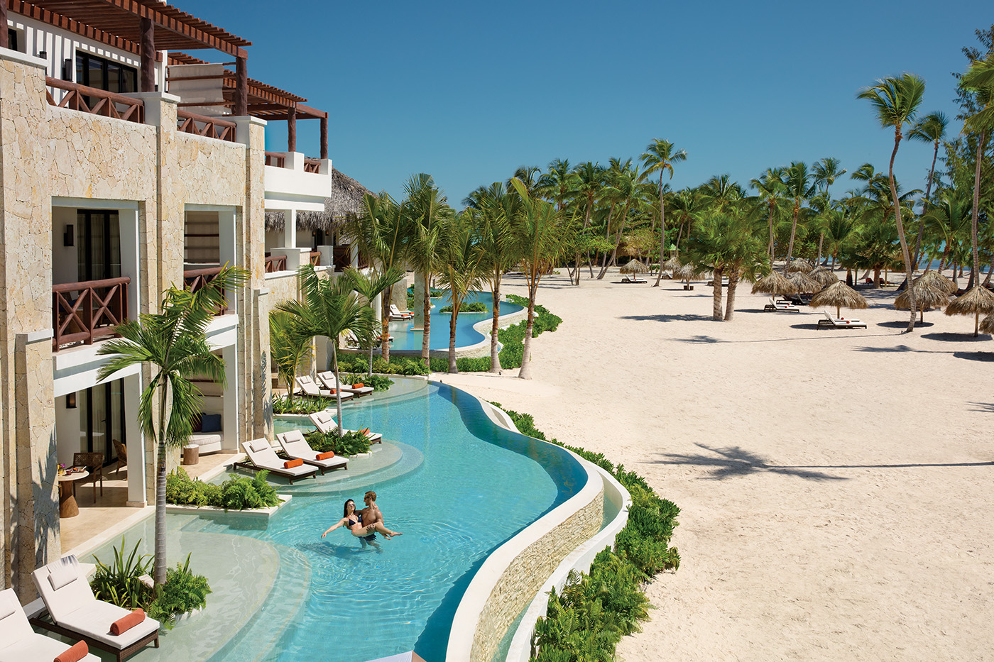 swim out suite at Secrets Cap Cana