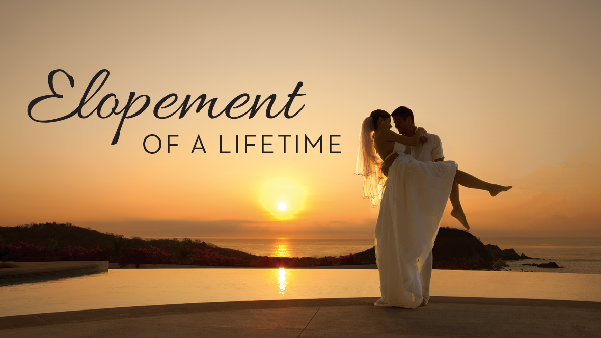 inclusive elopement and honeymoon package