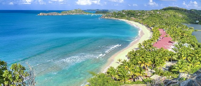 galley bay antigua aerial view