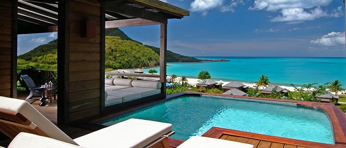 antigua suite with private pool hermitage bay