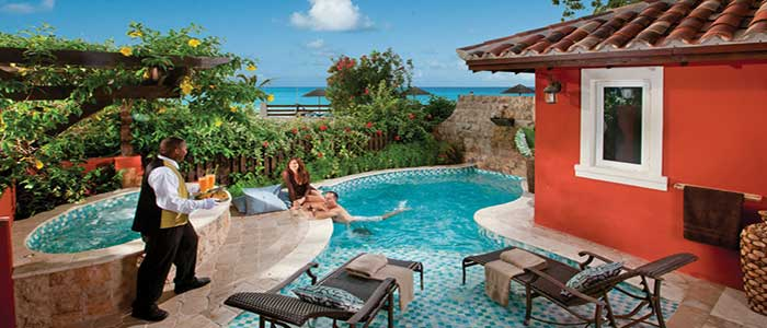 best antigua honeymoon suite at sandals grande antigua