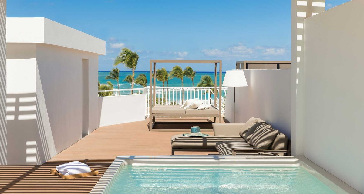 rooftop terrace honeymoon suite excellence punta cana