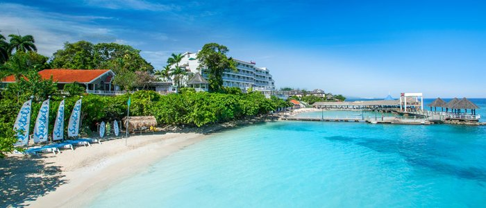 best sandals resort in jamaica if you want a large resort with everything