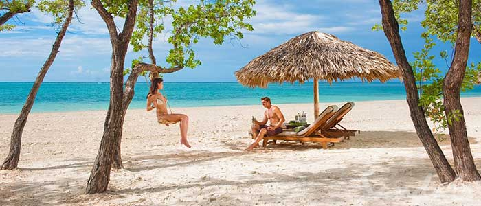 Sandals Whitehouse has 2 miles of beach