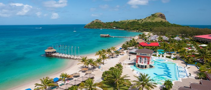 sandals st lucia honeymoon